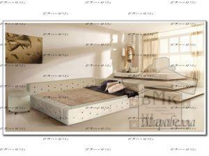 Кровать Мирабелла  (ВМК Шале)
