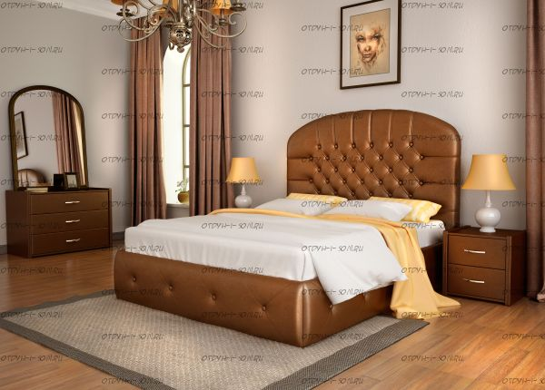 Кровать Венеция с подъемным механизмом + матрас