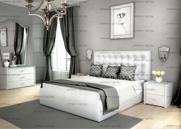 Кровать Аврора с подъемным механизмом + матрас