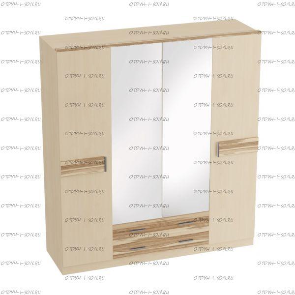 Шкаф 4-дверный Модена 200х56х220