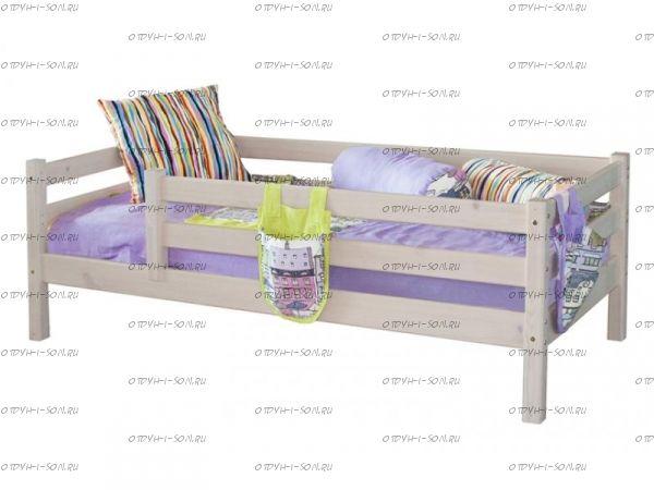 Кровать Соня3 с защитой по периметру массив