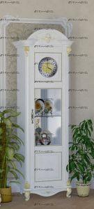 Шкаф с часами Да Винчи ГД-08 МДФ (670х516х2000) (Гостиная)