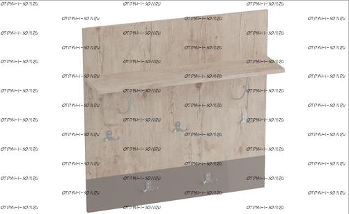 Вешалка Фан (800х300х850) (прихожая)