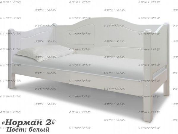 Кровать Норман (ВМК Шале) любые цвета и размеры