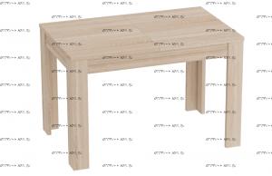 Стол раздвижной Элана МДФ (1110х720х730) (Спальня)
