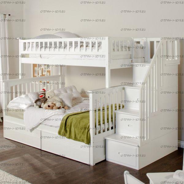 Кровать двухъярусная Лейла