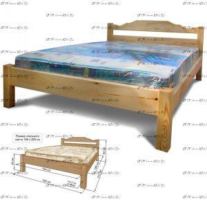 Кровать Дачник
