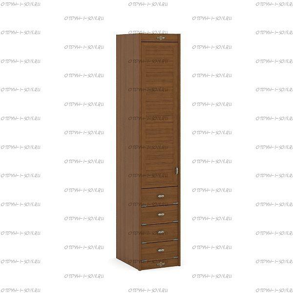 Шкаф 1-но дверный Корвет (52.201.09) 45х58х228