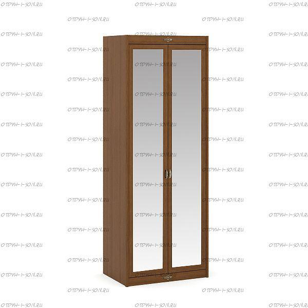 Шкаф 2-х дверный Корвет (52.202.03) (85х58х228)