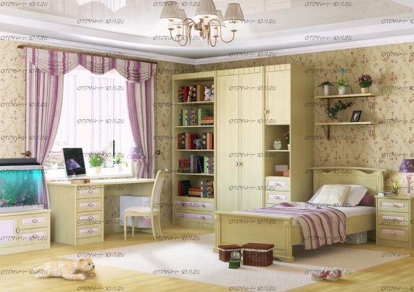Детская комната Итальянские мотивы №11 МДФ