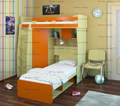 Кровать двухъярусная Карлсон М3