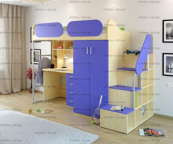 Кровать-чердак Teen`s Home 17.104.00 №2
