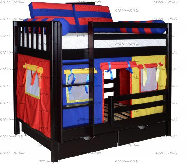 Кровать двухъярусная Галчонок-1