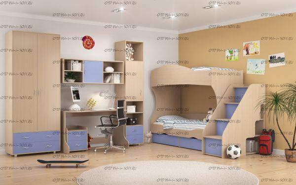 Детская комната Дельта №3