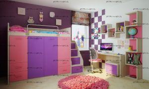 Детская комната Фанки Сити №3
