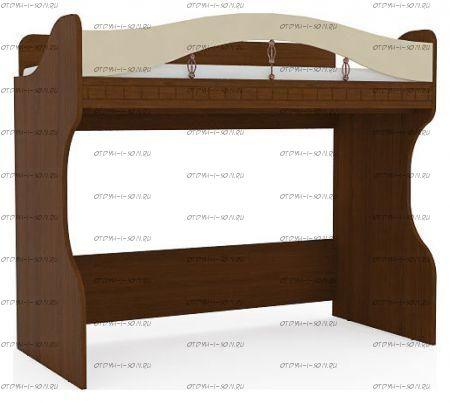 Кровать-чердак Итальянские мотивы МДФ