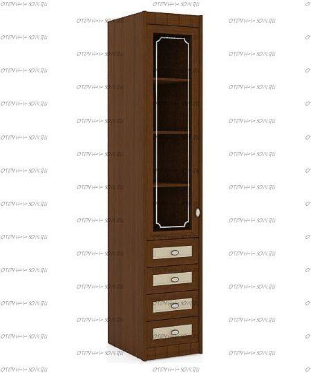 Шкаф-пенал Итальянские мотивы (51.201.05) МДФ, 45х58х228