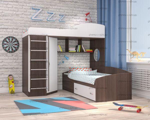Кровать двухъярусная Кадет №2