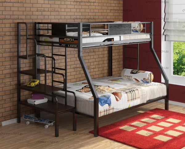 Кровать двухъярусная Гранада + Лестница