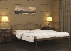 Кровать двуспальная Волна Малайзия