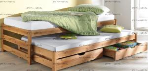 Кровать выкатная (двухъярусная) Ариэль