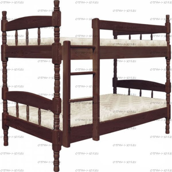 Кровать двухъярусная Скаут-2 МДФ