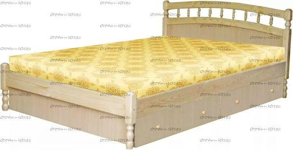Кровать Василиса с ящиками МДФ