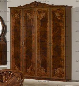 Шкаф 4-х дверный Маргарита Диа Мебель (187*60*219)