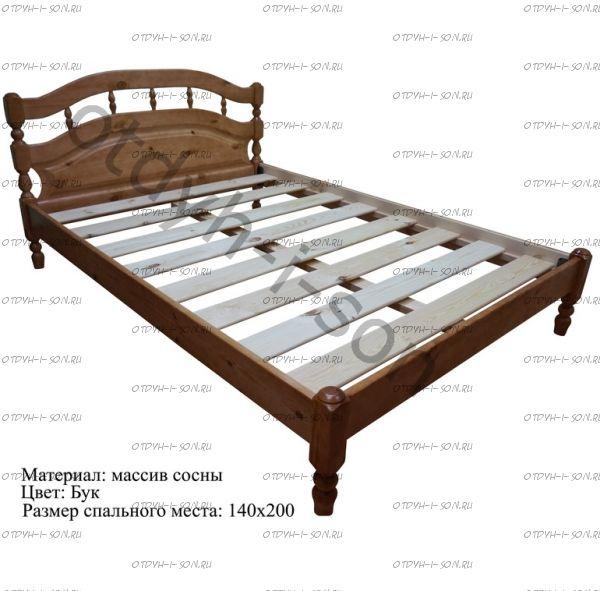 Кровать Хельга-2  (ВМК Шале)