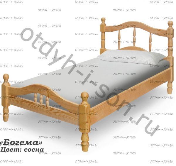 Кровать Богема (ВМК Шале)
