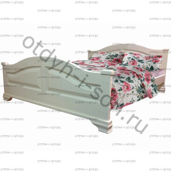 Кровать Акатава (ВМК Шале) без резьбы