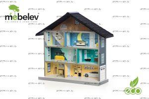 Игровой домик BiBi (Мебелев)