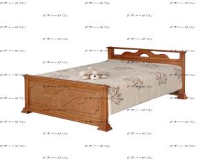 Кровать Лотос (ВМК Шале)